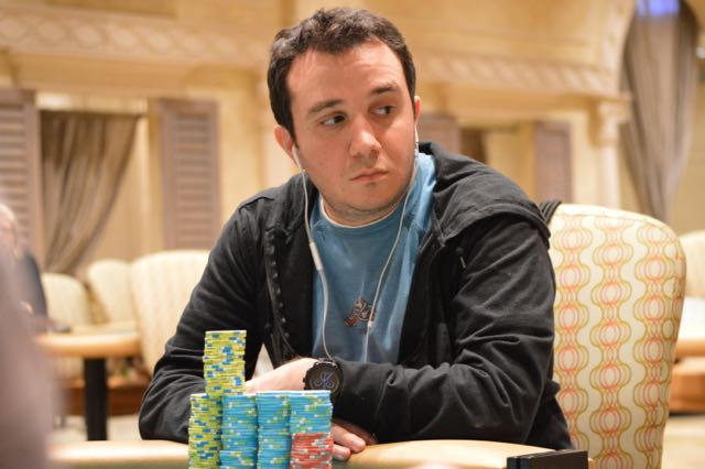 Nate Parenti has been quiet for the last few hours but just got a massive double up right before break and now returns near the chip average just a few spots from the BPPS 500 Final Table.