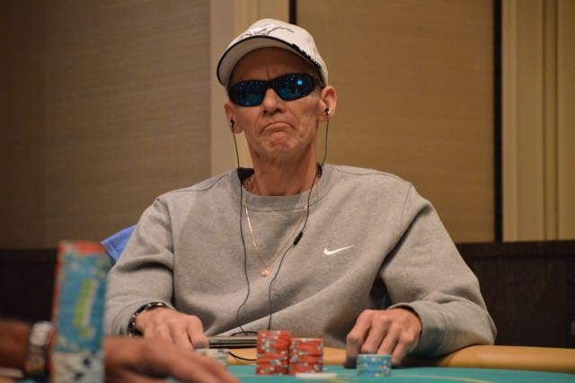 John Germano controlled the chip lead at this final table but was unable to recover after doubling up the short stacked Abraham Korotki. He still notches his best career Borgata finish, earning just over $9,000 for 3rd place.