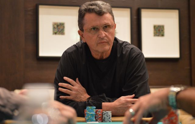 Abraham Korotki is now the BPPS final table chip leader, after scoring a massive double through John Germano and taking a decent pot off Joe 'Worm' Palma.